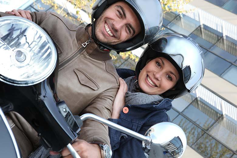 Pasażer na motocyklu