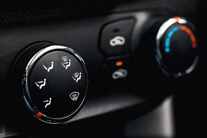 Czujnik w klimatyzacji samochodowej