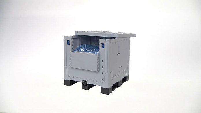 Pojemniki transportowe dla firmy